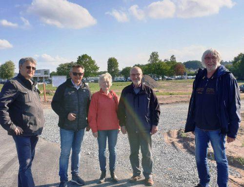 SPD- Fraktion besichtigt neues Baugebiet