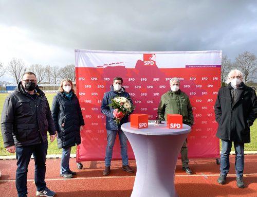 Daniel Schneider zieht für die SPD Cuxland in den Bundestagswahlkampf