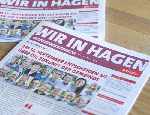 """Extrablatt: Die """"Wir in Hagen"""" zur Kommunalwahl"""